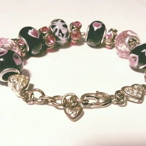 Brighton Charm Bracelet and Charms